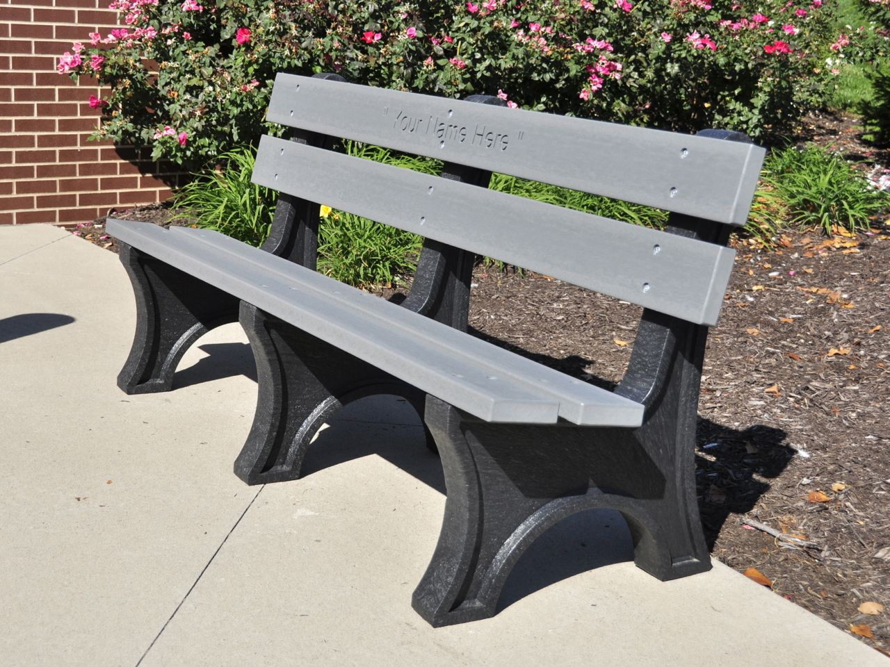Colonial Bench By Jayhawk Plastics Outdoor Benches For Trails And Parks Aaa State Of Play