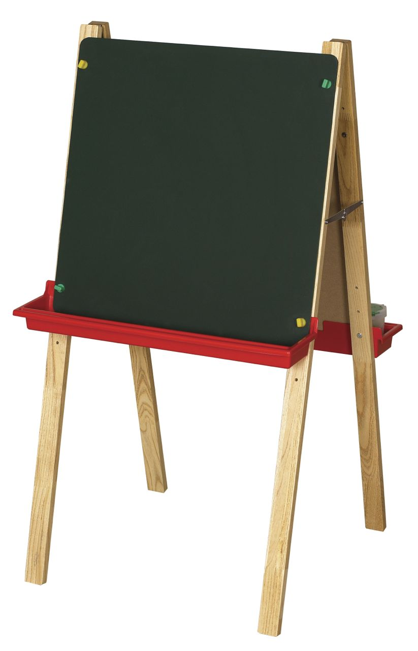 Double Sided Giant Magnetic Human Body Set: ECR4Kids Double Sided Adjustable Easel