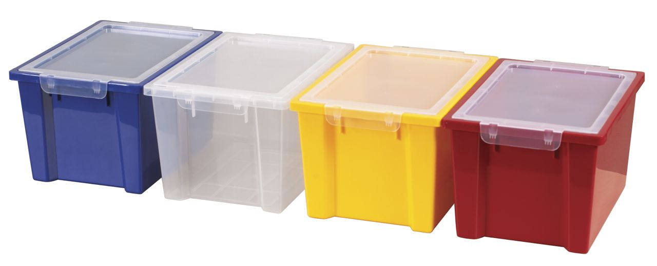 ECR4Kids Large Storage Bins with Lids   4 Pack. ECR4Kids Large Storage Bins with Lids   4 Pack   AAA State of Play