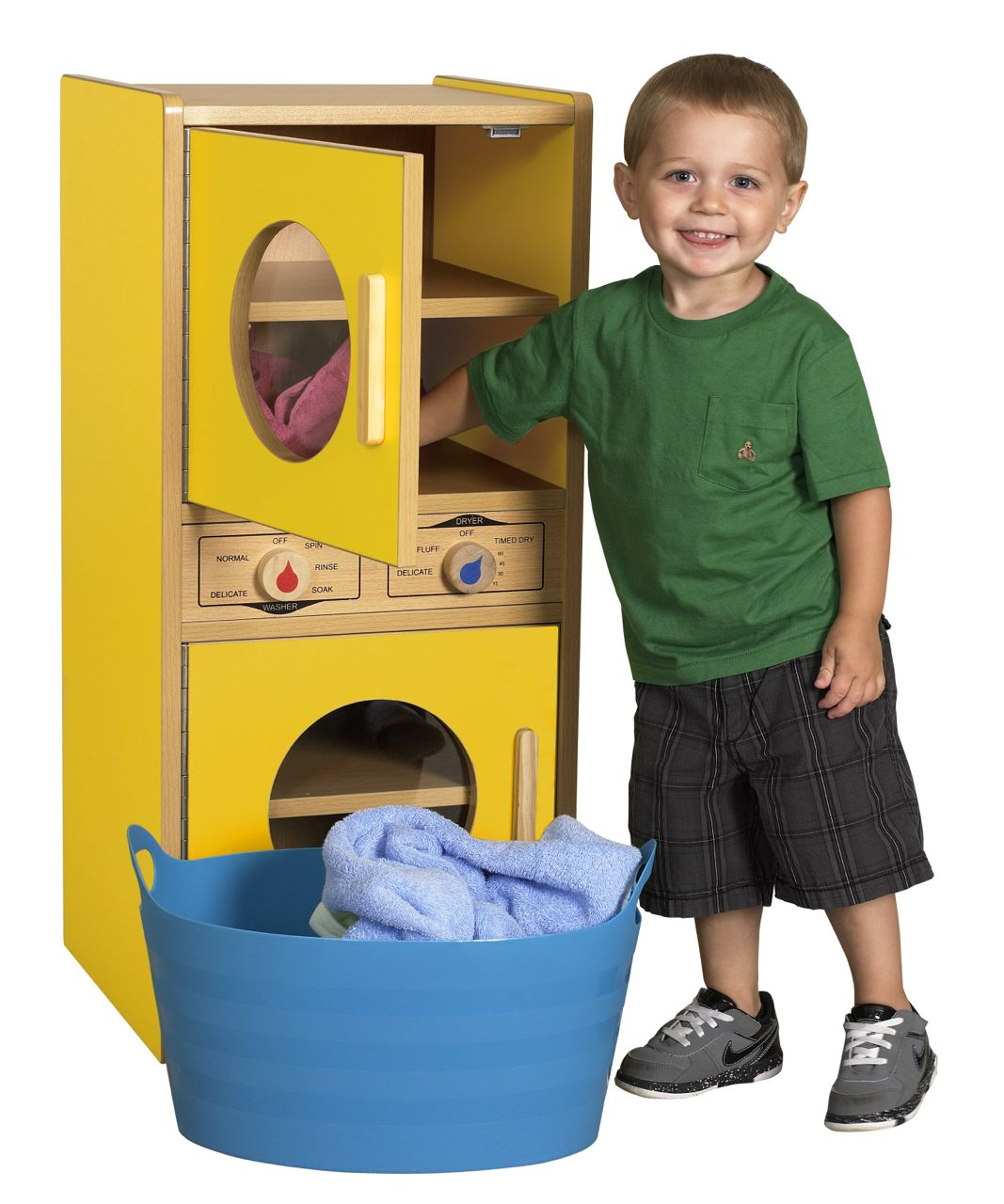 ecr4kids colorful essentials play kitchen washer dryer aaa state of play. Black Bedroom Furniture Sets. Home Design Ideas