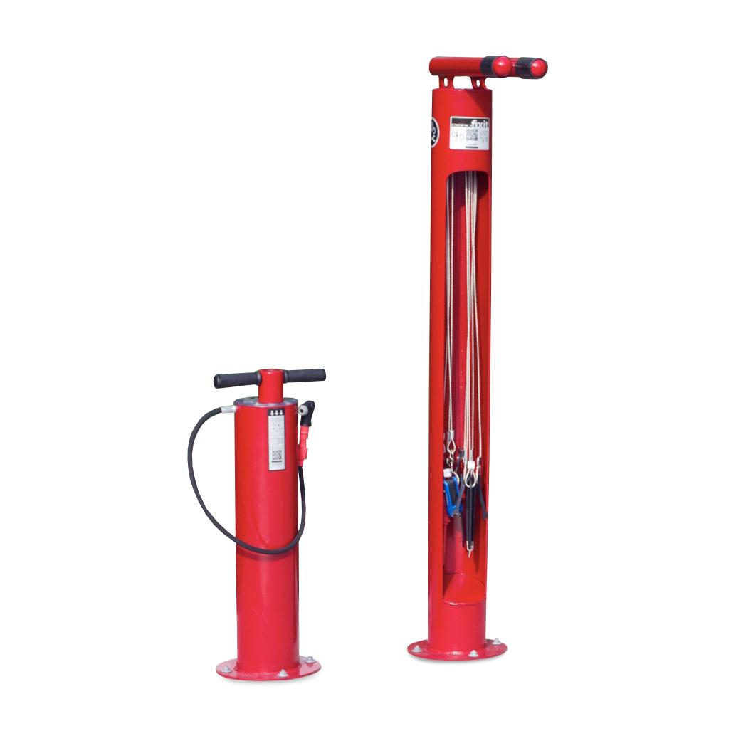 Bike Repair And Maintenance Station Air Kit 3 And Fixit