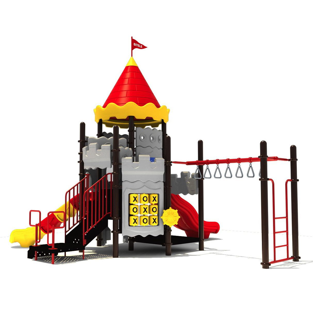Conway Castle Playground By Playground Equipment Dot Com