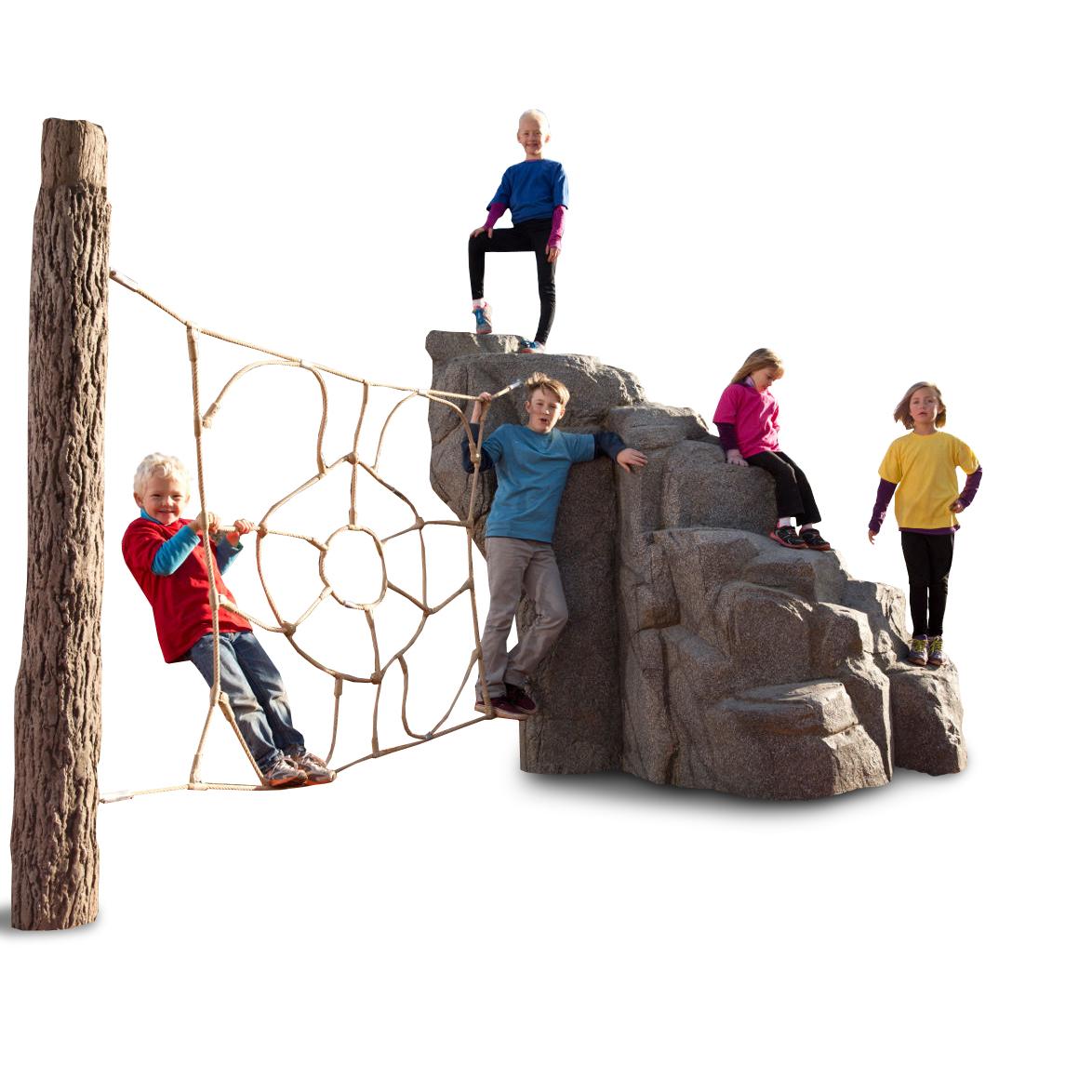 NatureROCKS Spider Mountain Netted Boulder Climber | AAA ...