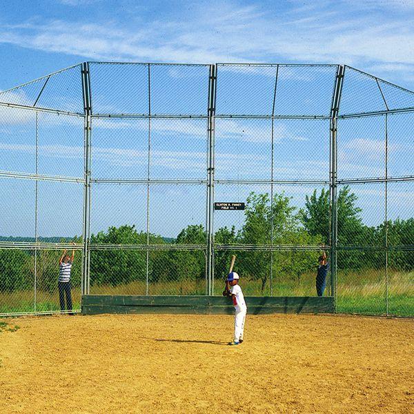 Prefabricated Baseball Softball Backstop By Sportsplay
