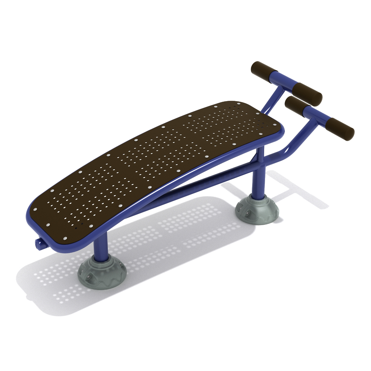 Single Sit Up Bench Outdoor Fitness By Playground Equipment Dot Com Aaa State Of Play