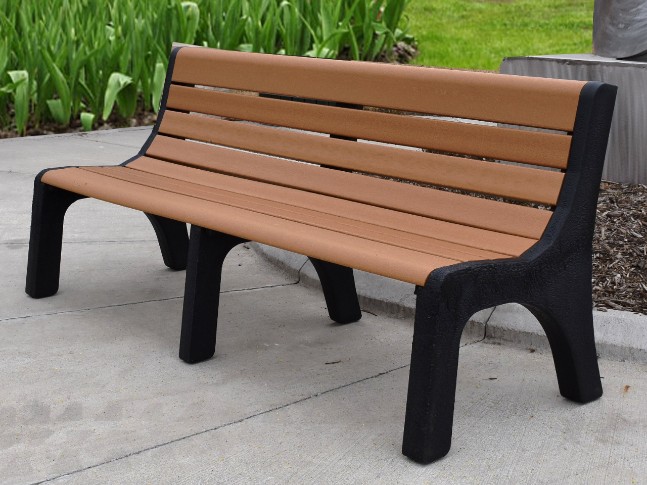 Newport Series Recycled Plastic Bench By Jayhawk Aaa