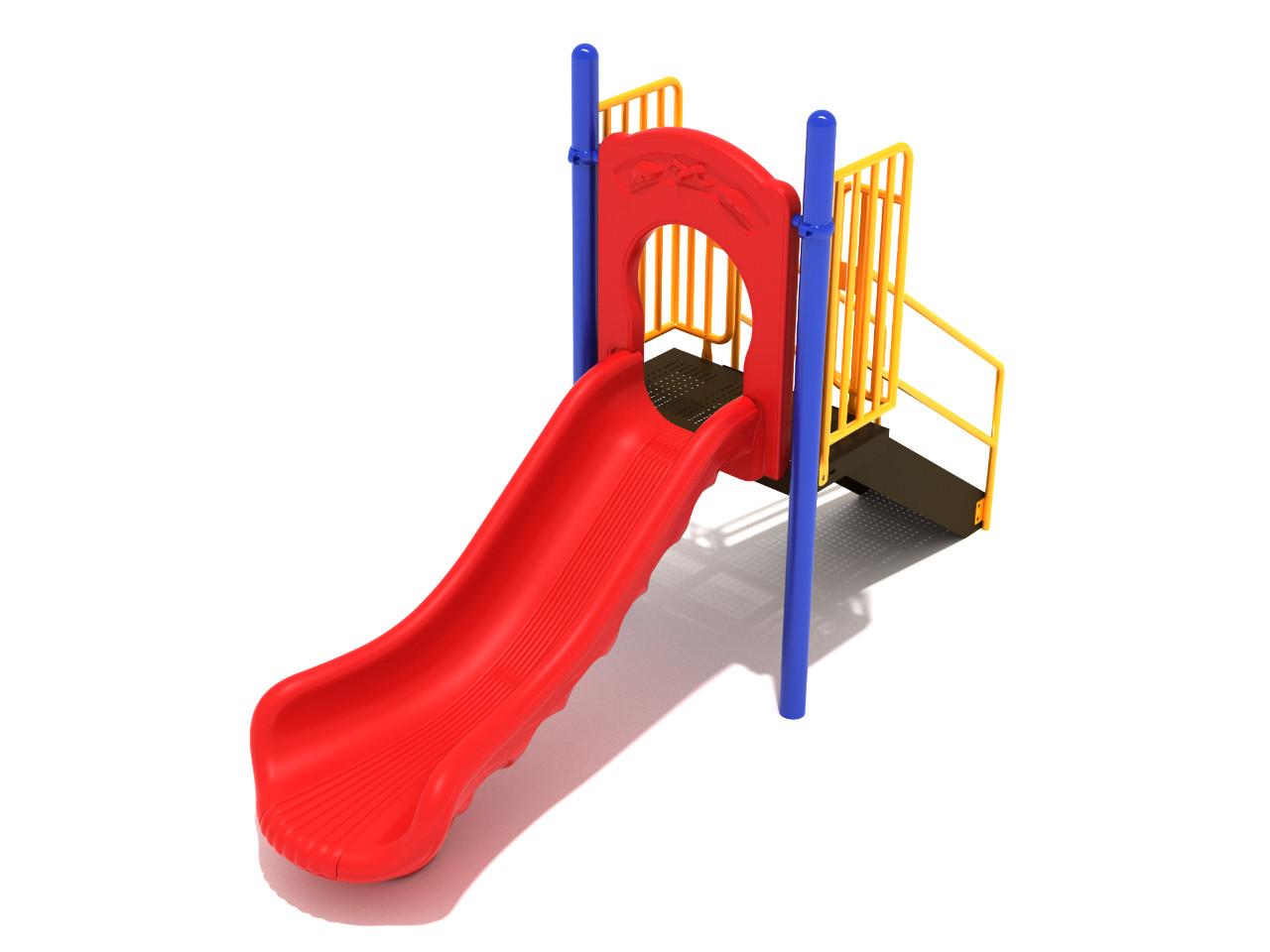 Straight Single Piece Free Standing Slide 4 Options