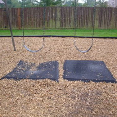 Rubber Swing Mat Surface Swing Mats For Commercial Playground Swings Aaa State Of Play