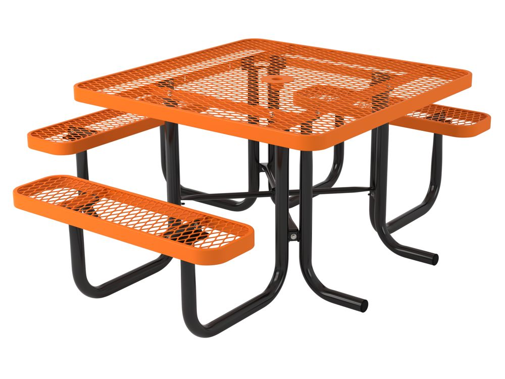 l series square portable picnic table by webcoat aaa. Black Bedroom Furniture Sets. Home Design Ideas