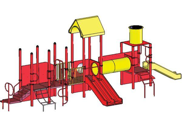 Tot town express modular playground by sportsplay for Express modular pricing