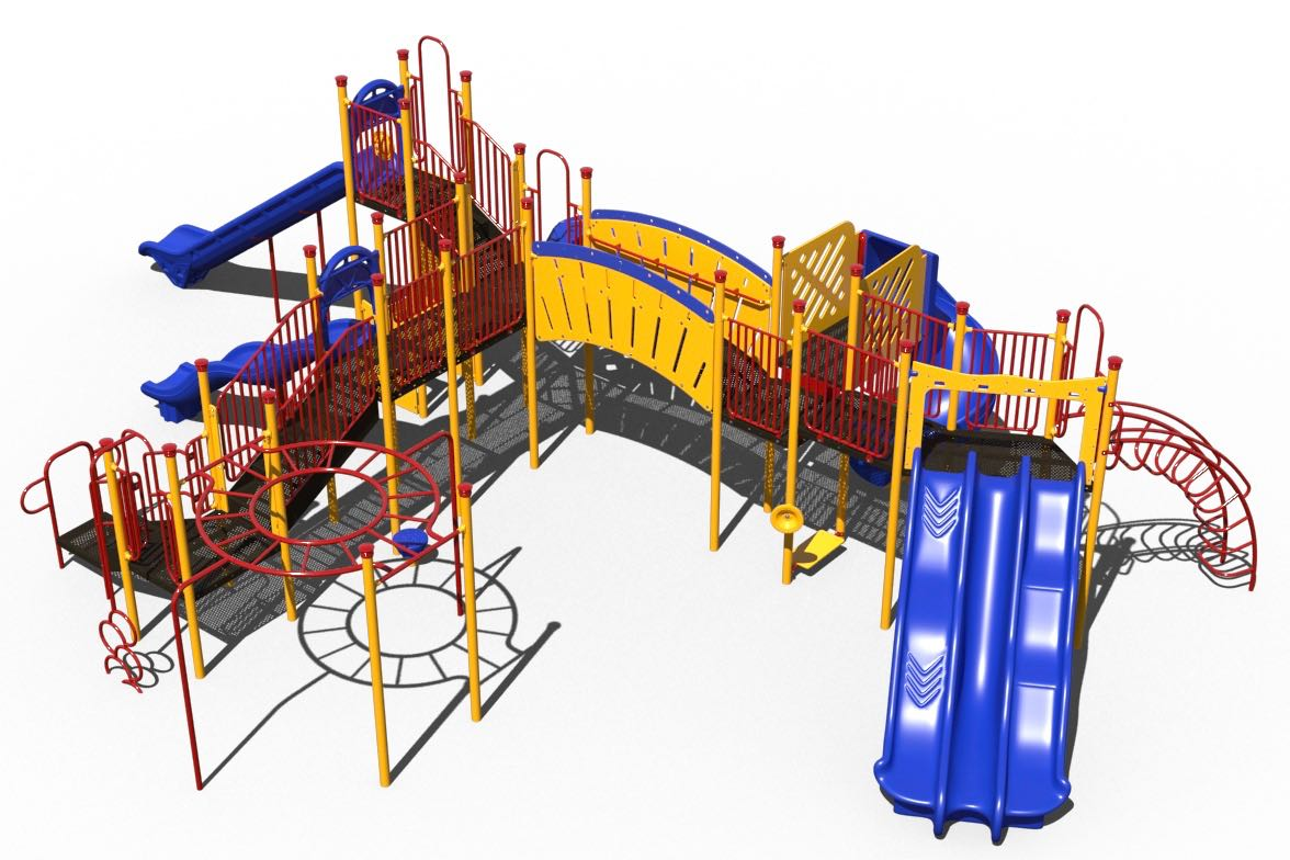 Triple Whammy Playground Structure By Sii Aaa State Of Play