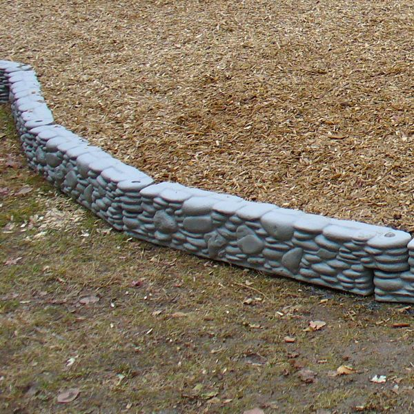 Reversible Stone Landscape Timber With Spike By Childworks