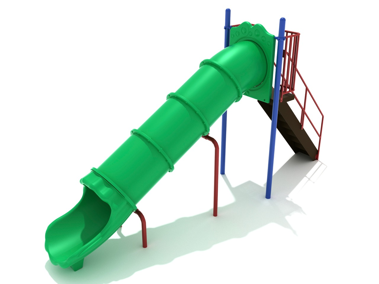 Free Standing Straight Tube Slide 3 Options Aaa State
